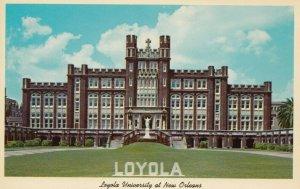 NEW ORLEANS, Louisiana, 1940-60s; Loyola University
