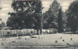 Swimming Pool Camp Maribel Collegeville Pennsylvania Artvue