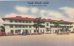 ST. THOMAS , Virgin Islands , 30-40s ; Trade Winds Hotel