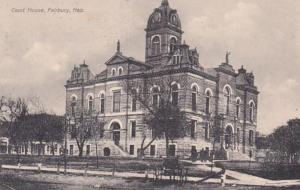 Nebraska Fairbury Court House 1909