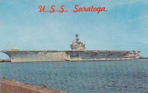 U S S Saratoga Aircraft Carrier Mayport Florida