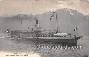 Lac Leman La Suisse Ship Postcard Post Card La Suisse Postcard Post Card Lac ...