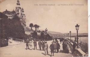 Monaco Monte Carlo Le Theatre et les Terrasses