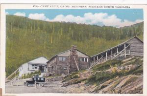 WESTERN NORTH CAROLINA; Camp alice on Mt. Mitchell, 10-20s