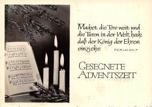 Gesegnete Adventszeit, Machet die Tore weit und die Tueren Psalm