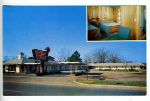 Bamberg SC Ziggy's Motel Interior Postcard