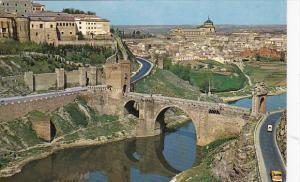 Spain Toledo Puente de Alcantara y vista parcial 1968