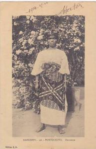 DAHOMEY ; 1916 ; Porto Novo ; Danseuse