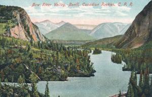 Bow River Valley, Banff AB, Alberta, Canada along Canada Pacific Railway - DB