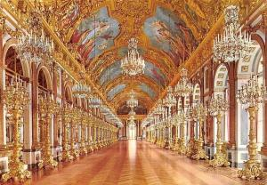 Schloss Herrenchiemsee Royal Castle, Spiegelsaal, Gallery of Mirrors