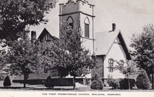 SPALDING, Nebraska, 1930-50s ; First Presbyterian Church