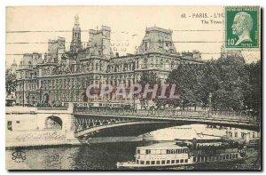 Old Postcard Paris City Hotel