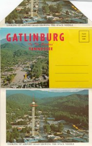 GATLINBURG , Tennessee , 50-60s ; Folder Postcard