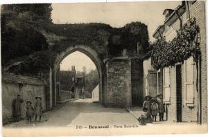 CPA BONNEVAL - Porte Boisville (33843)