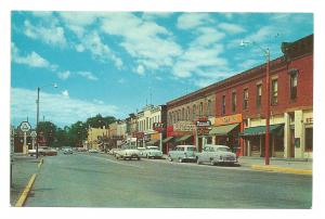 1950s Huron, Oh. Street view