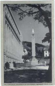 The Campanile, University of California, Berkeley CA,  1948