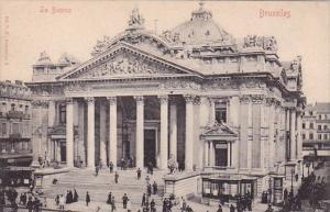Belgium Brussells La Bourse