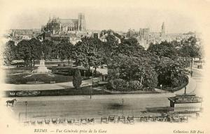 France - Reims, General View