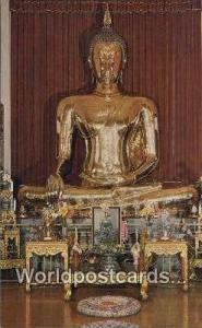 Bangkok Thailand Golden Buddha  Golden Buddha