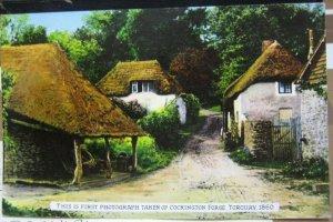 England Cockington Forge Torquay 1st Photograph repro - posted 1966