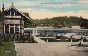 Ohio Cincinnati The Lake and Hot House Eden Park