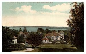 Rhode island east Greenwich , Aerial view of Bay from Spencer Avenue