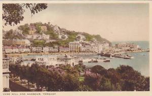 Vane Hill and Harbour, Torquay, Devon, England, United Kingdom, 10-20s