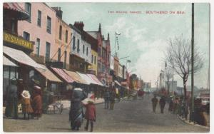 Essex; The Marine Parade, Southend On Sea PPC, Unposted, Shows Shopfronts