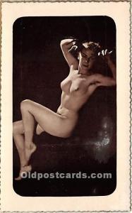Nude Postcard Academies Unused
