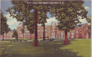 HIGH POINT - SENIOR HIGH SCHOOL...Exterior view of the building 1930s era