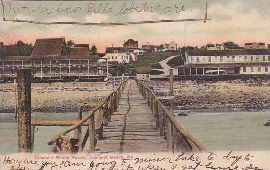 Maine Crescent Beach Crescent Beach Hotels 1906
