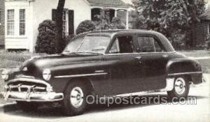 1951 Plymouth Cambridge 4 Door Sedan Automotive, Autos, Cards Old Vintage Ant...
