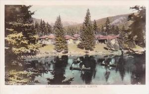 Canada Jasper Park Lodge Bungalows Real Photo RPPC