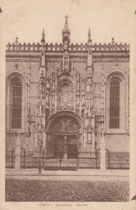 Portugal Lisbon Jeronymos entrada