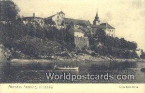 Akershus Faesining Kristiania Norway Unused