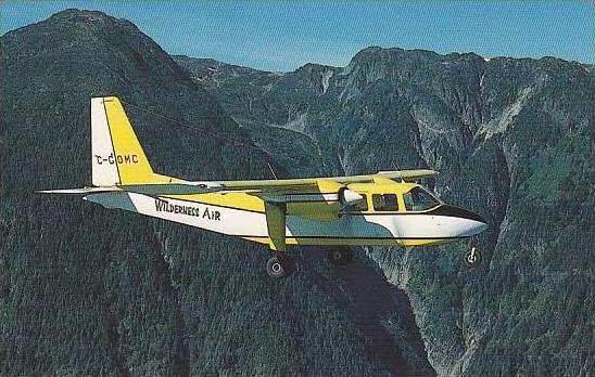 WILDERNESS AIRLINE PILATUS BN-2A-26 ISLANDER C-GOMC