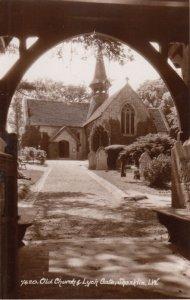 RP: SHANKLIN , I.W., England , 1930s ; Old Church & lych Gate