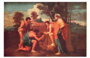 The Arcadian Shephards ,Nicolas Poussin