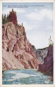 Wyoming Yellowstone National Park Red Pinnacle Grand Canyon of The Yellowstone