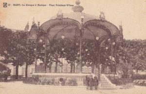 DIJON, France, 1900-10s , Le Kiosque a Musique