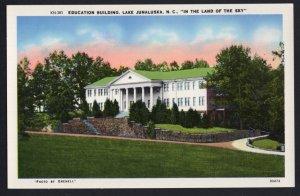 North Carolina LAKE JUNALUSKA Education Building In The Land Of The Sky Chrome