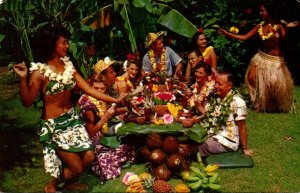 Hawaii Honolulu Don The Beachcomber's World Famous Luau