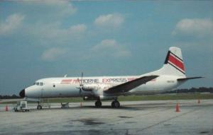 Aiborne Express YS-11A-205 At Greensboro-High Point North Carolina