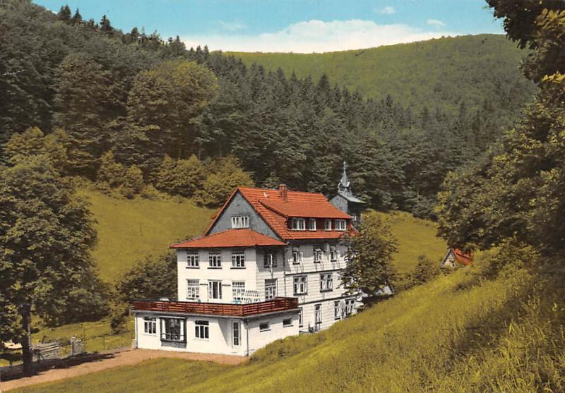 Luftkurort Lonau im Harz Ferienheim Waldhaus