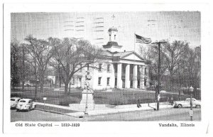 Old State Capitol. 1819 ~ 1839, Vandalia, Illinois 1952 to West Bend, Wisconsin