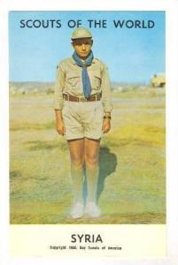 Boy Scouts of the World, Syria,40-60s