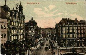 CPA AK Frankfurt a.M.- Kaiserstrasse GERMANY (1027379)