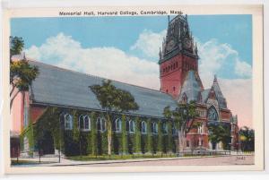 Memorial Hall, Harvard U, Cambridge MA