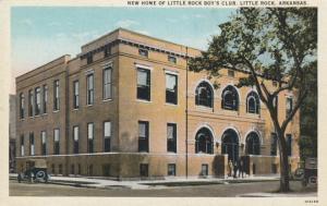 LITTLE ROCK, Arkansas, 10-20s; New Home of Little Rock Boy's Club