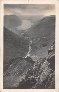 Wastwater from Great Gable, English Lake District